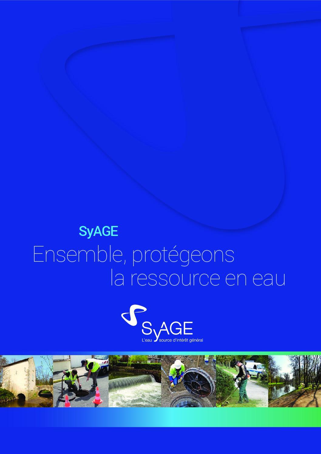 Brochure de présentation du SyAGE