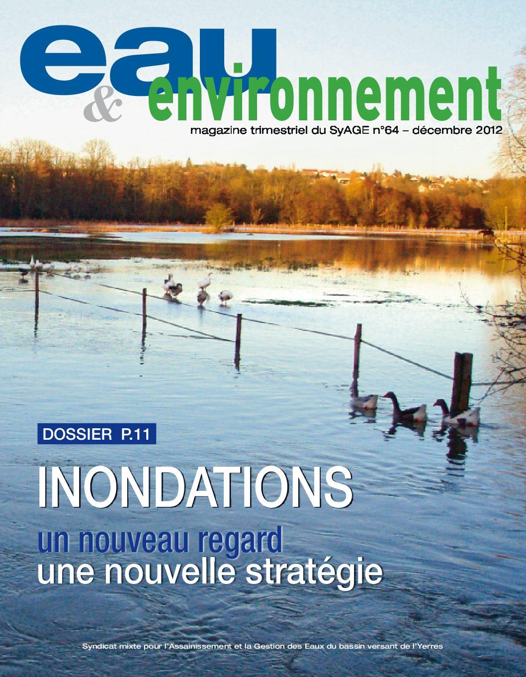 Eau & Evironnement n°64