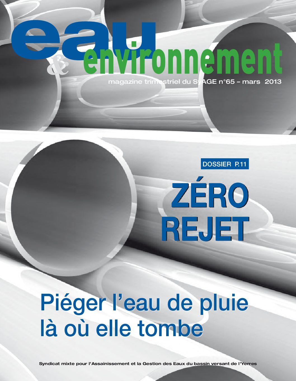 Eau & Evironnement n°65
